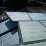 Montaje fachada translucida.